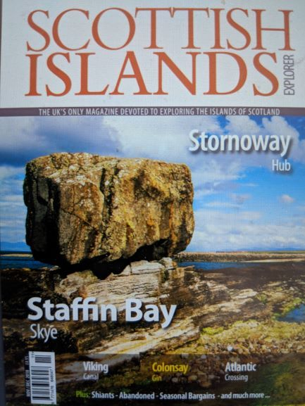 Scottish Islands Explorer magazine