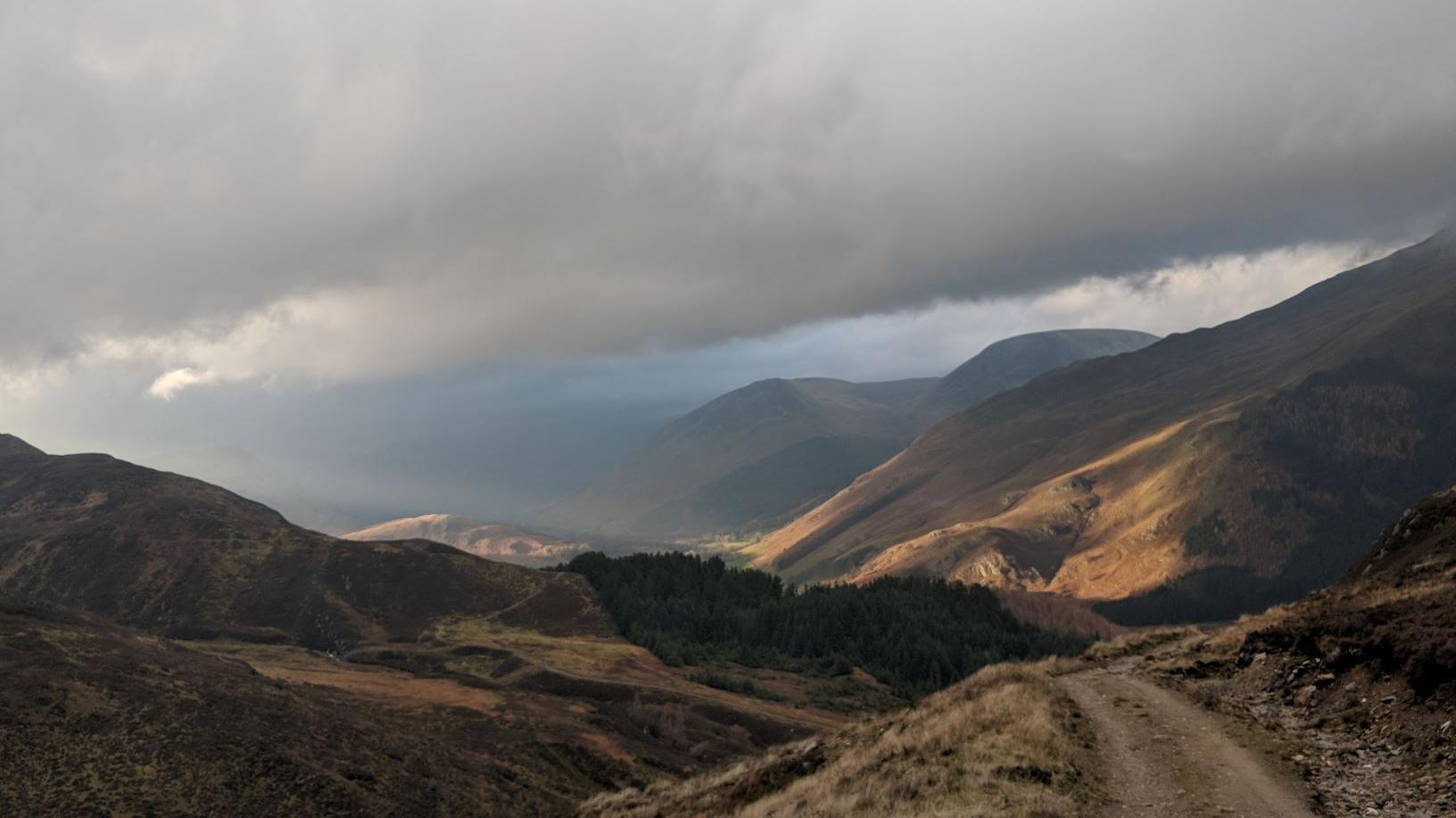 Glen Lyon Scottish Highlands