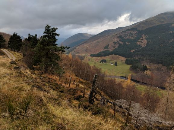 South Chesthill Highlands Scotland