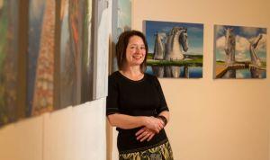 Scottish painter / artist Lesley Banks
