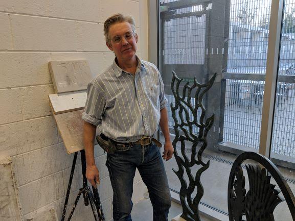 Sculptor Simon Burns-Cox
